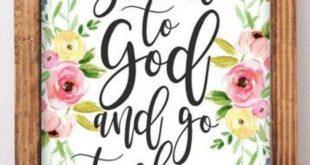Give it to God - Printable