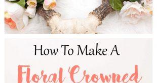 How To Make A Floral Crowned Deer Head