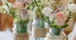 The Blossom Boutique was in charge of the floral décor at Greig and Jessica's...