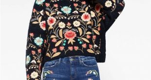$75 - Rich Embroidery Sweater Now available at Pasaboho. Free Spirit hippie girl...