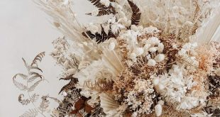 HOORAY! | Top Dried Floral Creations | Wedding Floral Inspiration | Dried Floral...
