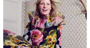 caroline winberg in dolce & gabbana by mel karch for marie claire italia january...