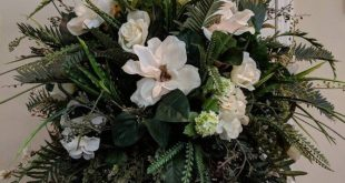 Extra Large Floral Arrangement Silk Arrangement Urn Arrangement Dining Room Foyer Entry Table Weddin