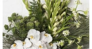 PURE WHITES - Floral Design by Pearsons Florist www.pearsonsflori...