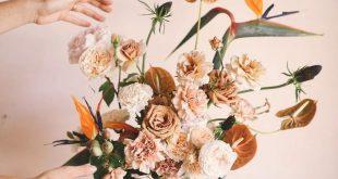 Terracotta & peache tones by Oh Flora Studio Sydney & destination floral design...