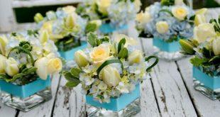 Blumenarrangements - Charmantes DIY-Herzstück