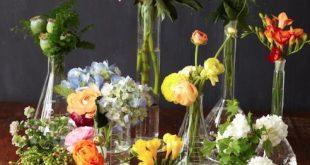 DIY-Idee: Blumen in Flaschen