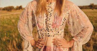 Gemma Ward Models Gorgeous Gowns for Harper's Bazaar Australia