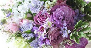 Mixed flowers arrangement