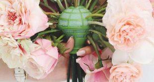 Loose Stem Bouquet Holder for Silk or Dried Flowers - DIY Weddings