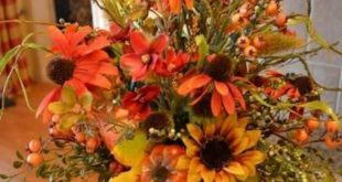40+ Pretty Fall Flower Arrangements Ideas That You Can Make It Self - Page 34 of...