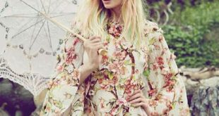 Lace Parasol | How To Wear Floral | Floral Fashion | Romantic Style | Feminine S...