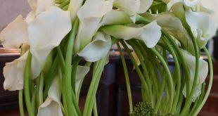 //calla lilies ~beautiful design #floral #arrangement