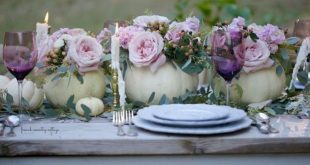 48 Cute White Pumpkin Fall Floral Arrangement Ideas