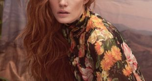 Andreas Ortner for Marie Claire with Alexina Graham