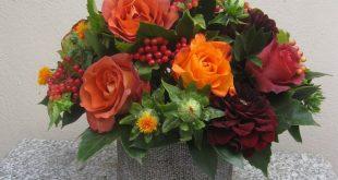 40+ Beautiful Thanksgiving Flower Arrangements Garden Ideas