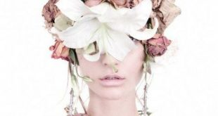 65 Ideas Fashion Editorial Flowers Colour