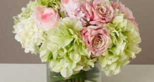 70+ Super Ideas Wedding Flowers Hydrangea Pink Floral Arrangements