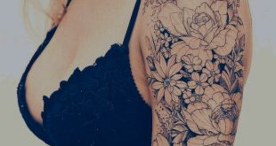 Beautiful line work #flowertattoos #flowertattoos
