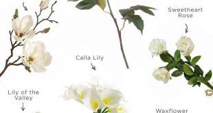 Beliebte Hochzeitsblumen in Weiß, Creme und Elfenbein erhalten Sie bei Afloral.com. W
