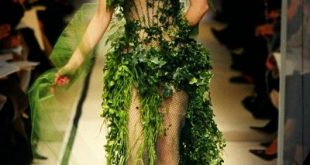 Besondere Mode: Floral Couture