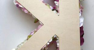 Blumen Buchstaben groß, Floral Brief Hochzeit, hochzeitsdeko, personalisierte Kinderzimmer Wand Dekor, Fotografie Prop, Wandkunst, Brautdusche