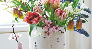 Blumenstraußidee zum Nachmachen