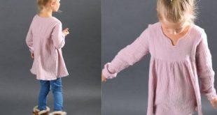 Bohemian Dress&Blouse ..Kleid Bluse / Nähanleitung und Schnittmuster