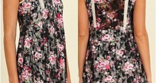 Boho Floral Lace Sleevless Dress SM Simply gorgeous boho chic sleeveless lace tu...