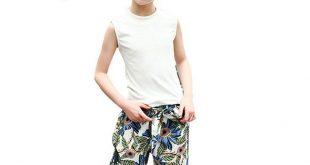 Girls Summer Clothing Set Girls Teens Suit Kids 2Pcs sleeveless Cotton Top+Chiff...