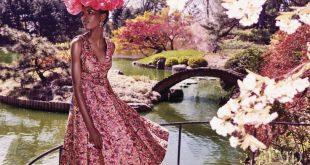 In Bloom in Harper's Bazaar USA with Amilna Estev�o - (ID:33888) - Fashion Edi...