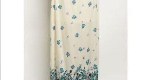 JUST IN✨TEAL & CREAM FLORAL PRINT MAXI SKIRT GORGEOUS Teal Floral Print Maxi S...