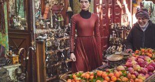 Julia Van Os Wears Chic Market Fashions for Vogue Japan