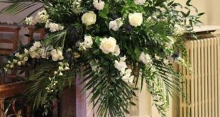 Kirchen-Hochzeits-Anordnungs-Blumenmuster