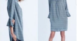 Madewell Starland Bell Sleeve Dress Bandana Floral I'm selling this Madewell sta...
