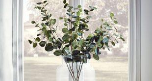 NEW Six Faux Eucalyptus Sprays