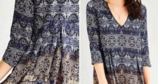 Urban Outfitters Ecote Willow Frock shift Dress Cute floral print, pair with som...